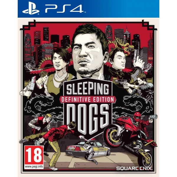 Sleeping Dogs Definitive PS4 Game