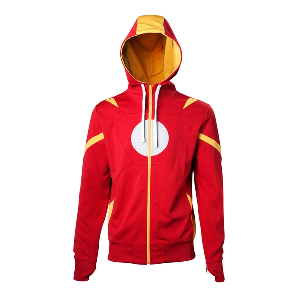 Marvel Comics - Iron Man Men's X-Large Hoodie - Red/Orange