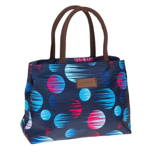 Modern Spot Waterproof Handbag Navy