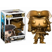 Gold Jack Sparrow (Pirates of the Caribbean) Funko Pop! Vinyl Figure