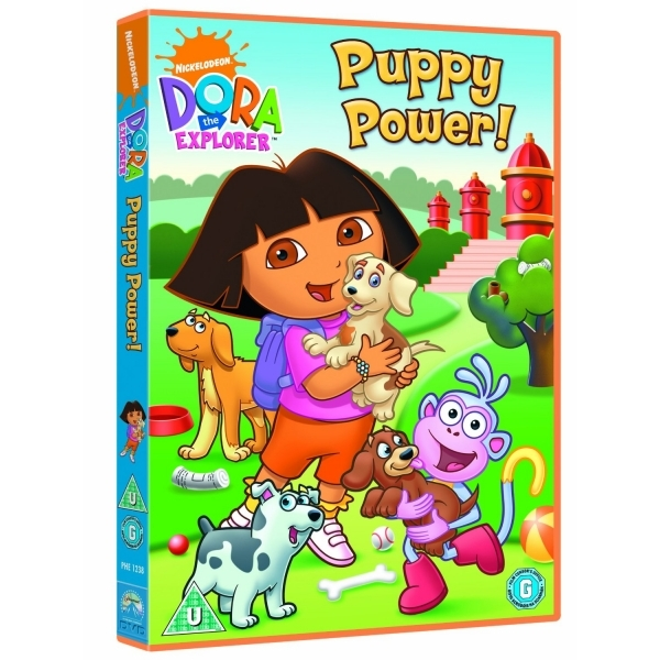 Dora the Explorer: Puppy Power DVD