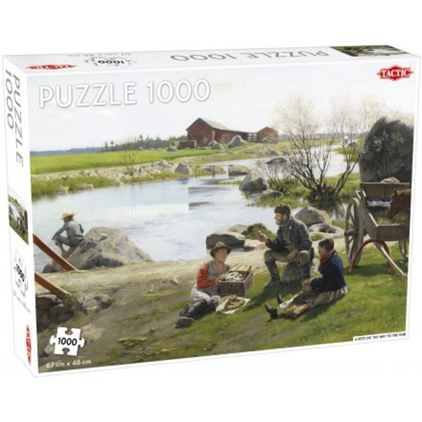 A Rest on the Way 1000 Piece Jigsaw Puzzle
