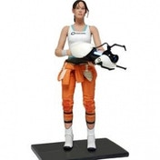 Portal 7'' Action Figure: Chell With Light Up ASHPD Accessory