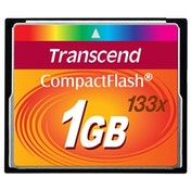 Transcend 1GB 133x Compact Flash Card