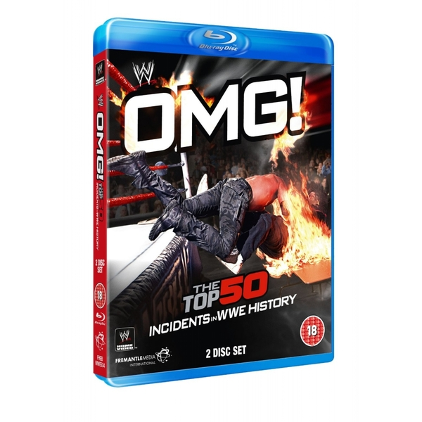 WWE OMG! - The Top 50 Incidents In WWE History Blu-Ray
