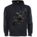 Fatal Attraction Women's Small Side Pocket Stitched Hoodie - Black - Image 2
