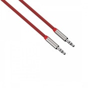Colour Line Audio Cable (Red) Aluminium 1m