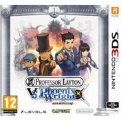 Professor Layton vs Phoenix Wright Ace Attorney Game 3DS