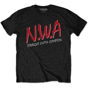 N.W.A - Straight Outta Compton Men's XX-Large T-Shirt - Black