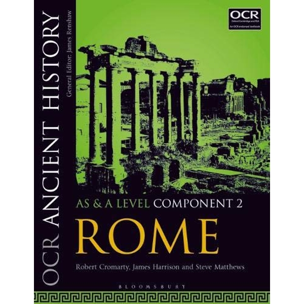 OCR Ancient History AS and A Level Component 2 Rome Paperback / softback 2018