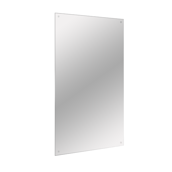 Frameless Mirror Includes All Fixings | M&W 450x300mm
