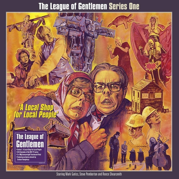 Original Cast Recording - League Of Gentlemen Series 1: A Local Shop For Local People Clear  Vinyl