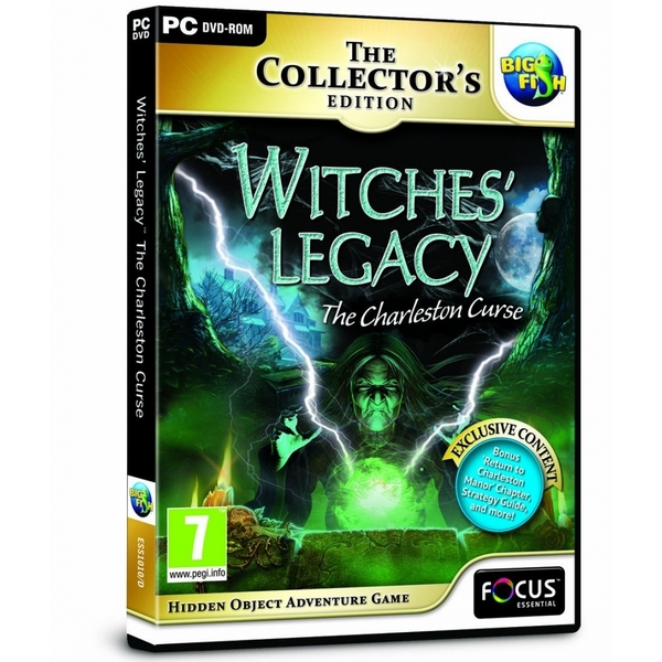 Witches Legacy Charleston Curse Game PC
