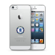 Official Chelsea F.C. Merchandise TPU Clear iPhone 5 Cover