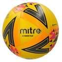 Mitre Ultimatch Plus Match Ball Yellow Size 5