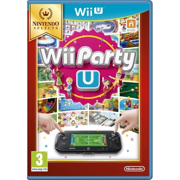 Wii Party U Solus Game Wii U (Selects)