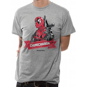 Deadpool - Chimichanga Point Men's X-Large T-Shirt - Grey