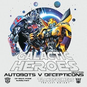 Transformers The Last Knight - Galactic Heroes Canvas