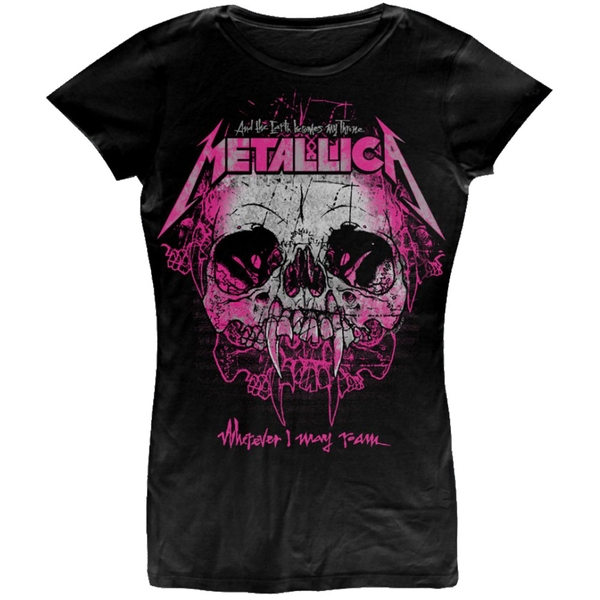 Metallica - Wherever I May Roam Ladies Large T-Shirt - Black