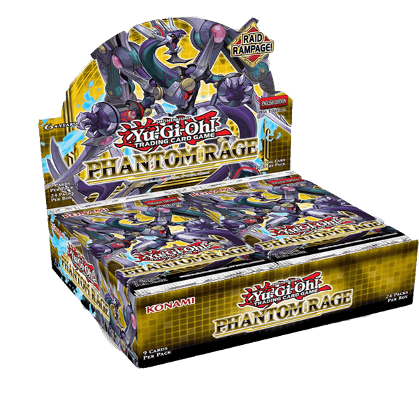 Yu-Gi-Oh! TCG Phantom Rage Booster Box (24 Packs)