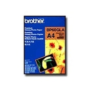 Brother BP60GLA Photo Paper A6 190 g/m2 210 x 297 mm 2 Sheets