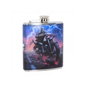Hell on the Highway Hip Flask 7oz