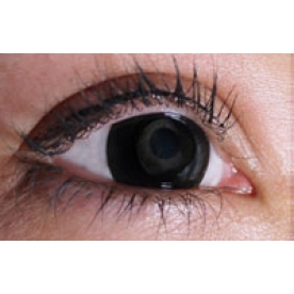 Black Out 1 Month Halloween Coloured Contact Lenses (MesmerEyez XtremeEyez)