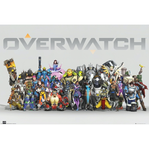 Overwatch Anniversary Line Up Maxi Poster
