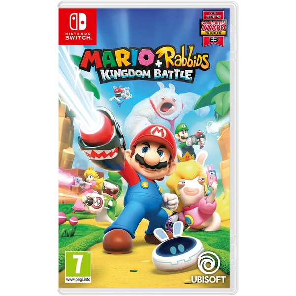 Mario + Rabbids Kingdom Battle Nintendo Switch Game - Image 1