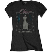 Cher - Heart of Stone Women's Large T-Shirt - Black