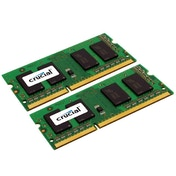 Crucial 4 GB (2 GB x 2) DDR3 1333 MT/s (PC3-10600) SODIMM 204-Pin Memory