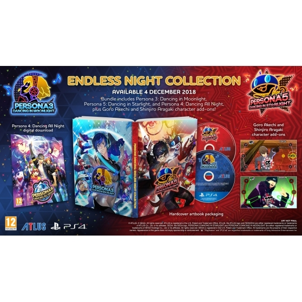 Ex-Display Persona 3 & 5 Endless Night Collection PS4 Game (PSVR  Compatible) Used - Like New