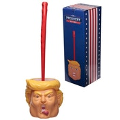 President Head Toilet Brush and Holder