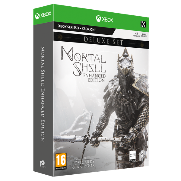 Mortal Shell Enhanced Edition Deluxe Set Xbox Series X Game