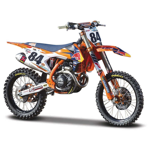 1:6 Red Bull KTM Supercorss SX450 2018 Motorbike Model