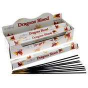 Dragons Blood (Pack Of 6) Stamford Hex Incense Sticks