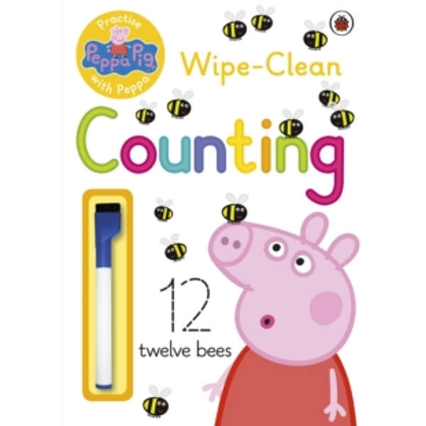 Peppa Pig: Practise with Peppa: Wipe-Clean Counting by Penguin Books Ltd (Paperback, 2015)