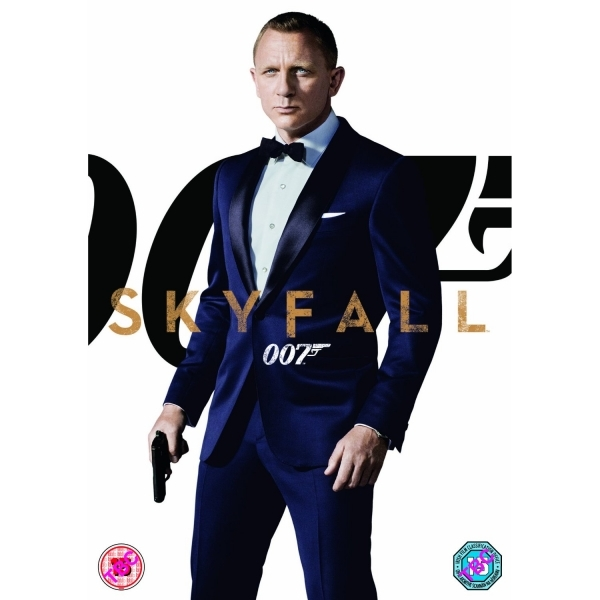 Ex-Rental James Bond Skyfall DVD