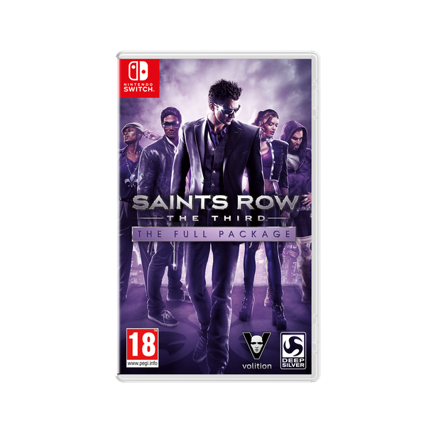 Saints Row The Third The Full Package Nintendo Switch Game - Image 1