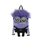 Despicable Me Purple Minion 3 Plush Backpack