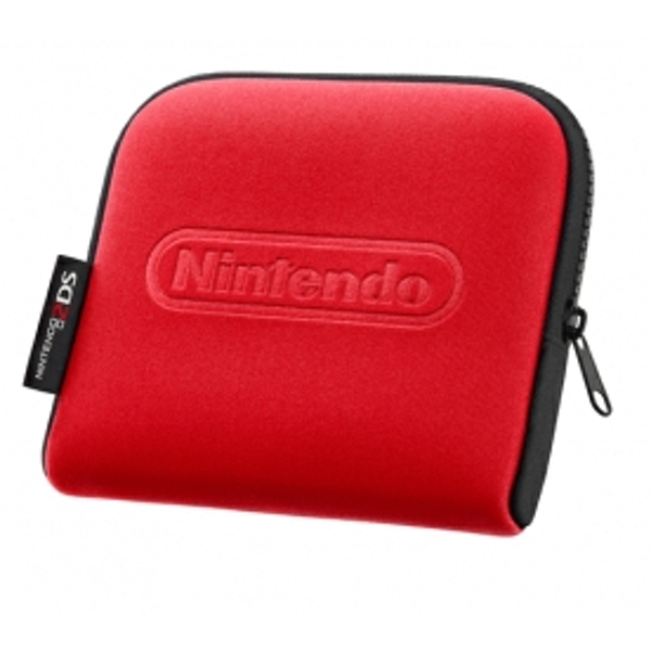 Nintendo 2DS Console Carry Case Red