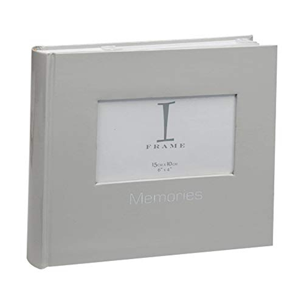 "4"" x 6"" iFrame Album with Cover Aperture - Grey"