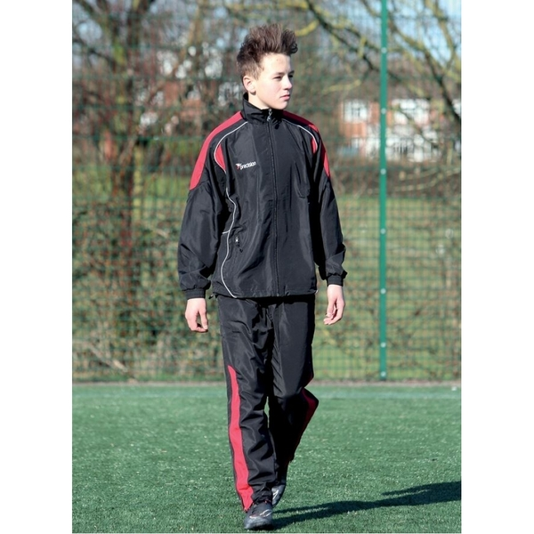 Precision Ultimate Tracksuit Trousers Black/Red/Silver 42-44
