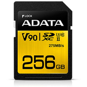ADATA Premier ONE 256GB SDXC Card, UHS-II Class 10 (U3)