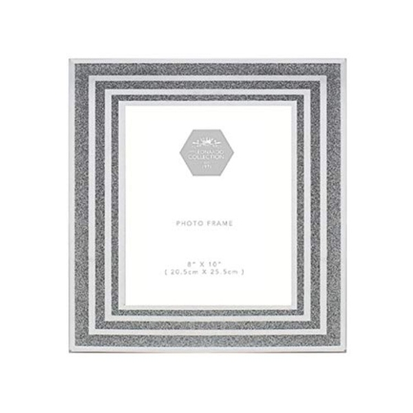 Silver Glitter Frame 8X10 By Lesser & Pavey