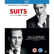 Suits - Season 1-5 Blu-ray