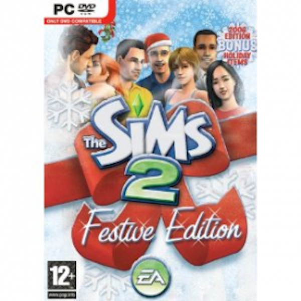 The Sims 2 Festive Edition Game Includes Festive Holiday Stuff Pack PC