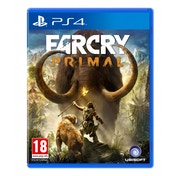 Far Cry Primal PS4 Game + Sabretooth DLC Pack (with Exclusive 3D Cover)