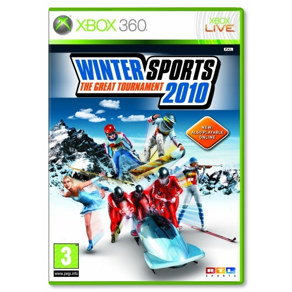Winter Sports 2010 The Great Tournament Game Xbox 360