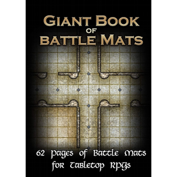 The Giant Book of Battle Mats For Tabletop RPGs